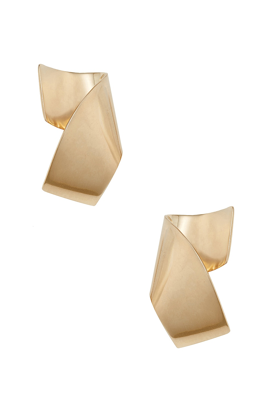 Image 1 of Fay Andrada Siipi Large Earrings in Brass