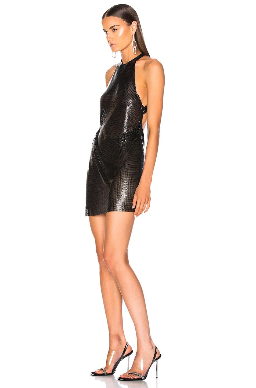 Image 3 of FANNIE SCHIAVONI Alicia Dress in Black