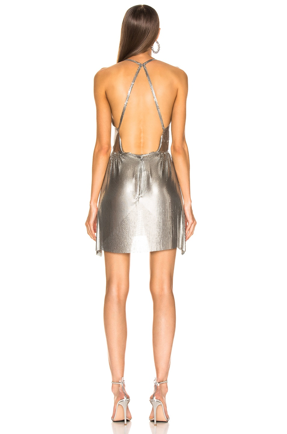 Image 3 of FANNIE SCHIAVONI Jourdana Dress in Silver