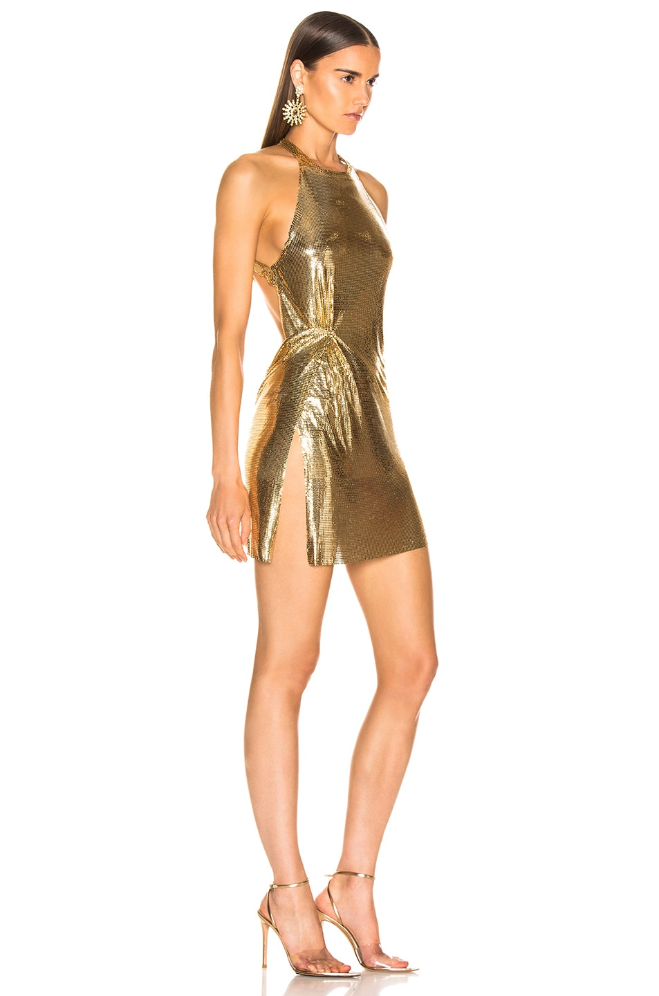 Image 2 of FANNIE SCHIAVONI Alicia Dress in 18K Gold
