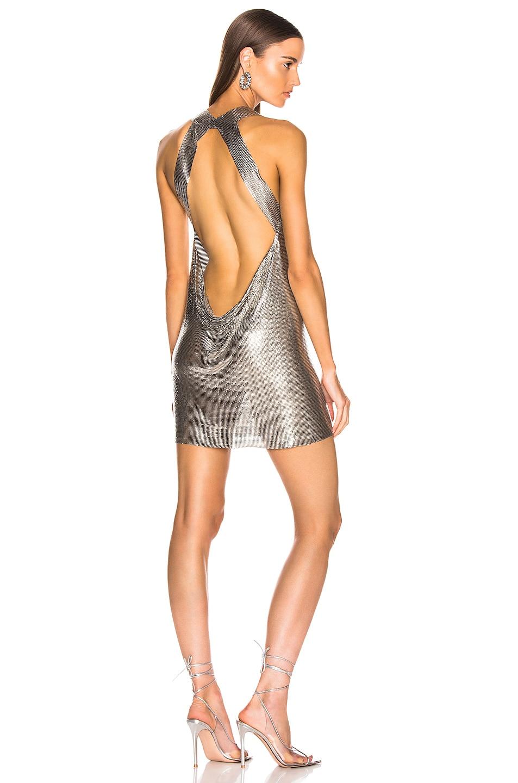 Image 1 of FANNIE SCHIAVONI Yael Dress in Silver