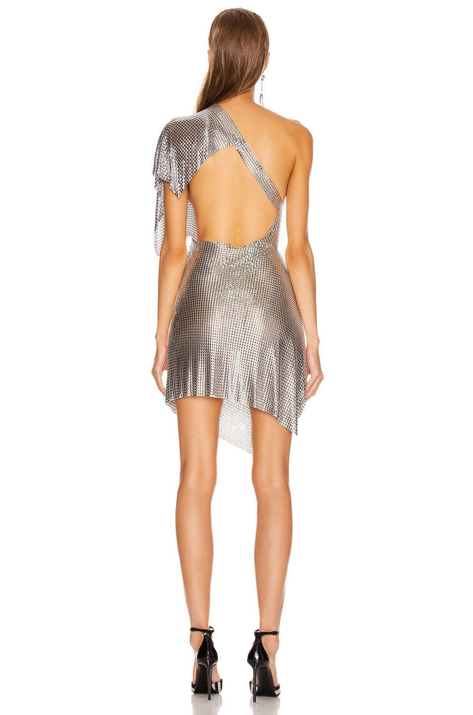 Image 4 of FANNIE SCHIAVONI Rosie Dress in Silver