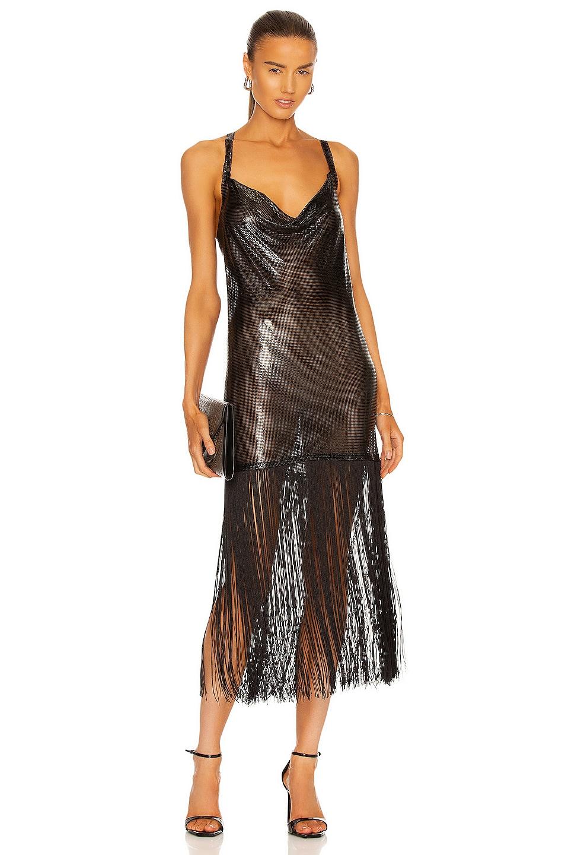 Image 1 of FANNIE SCHIAVONI Sasha Dress in Black