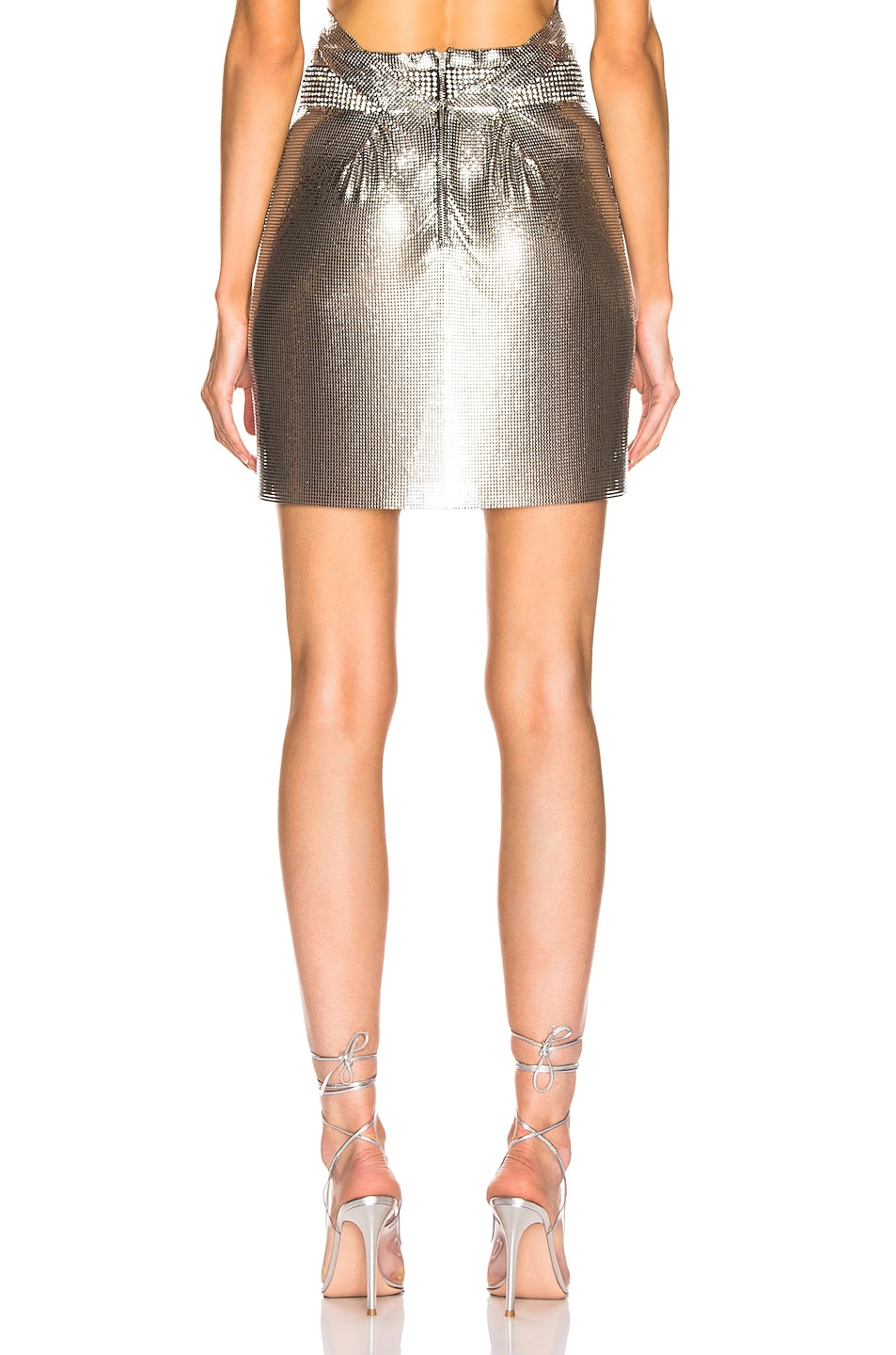 Image 3 of FANNIE SCHIAVONI Malin Skirt in Silver