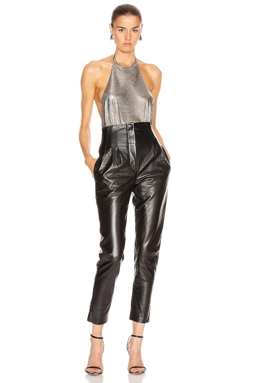 Image 4 of FANNIE SCHIAVONI Alicia Top in Silver