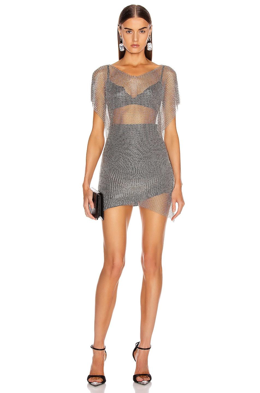 Image 1 of FANNIE SCHIAVONI Eva Top in Silver