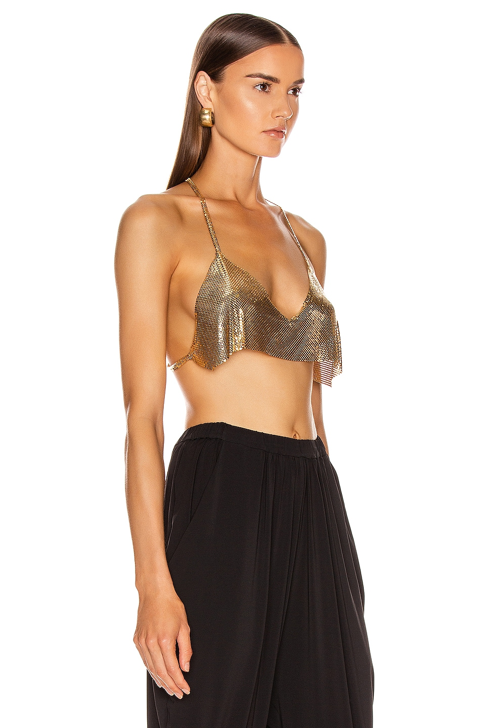 Image 2 of FANNIE SCHIAVONI Lily Top in 18 Gold Plated