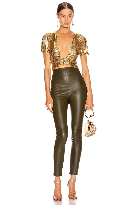 Image 4 of FANNIE SCHIAVONI Diane Top in Gold