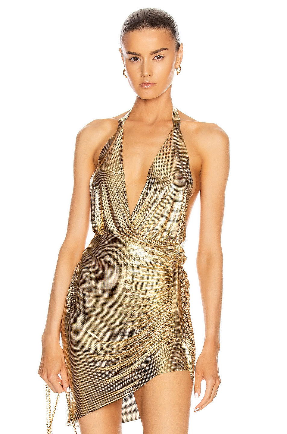 Image 1 of FANNIE SCHIAVONI Cher Top in Gold