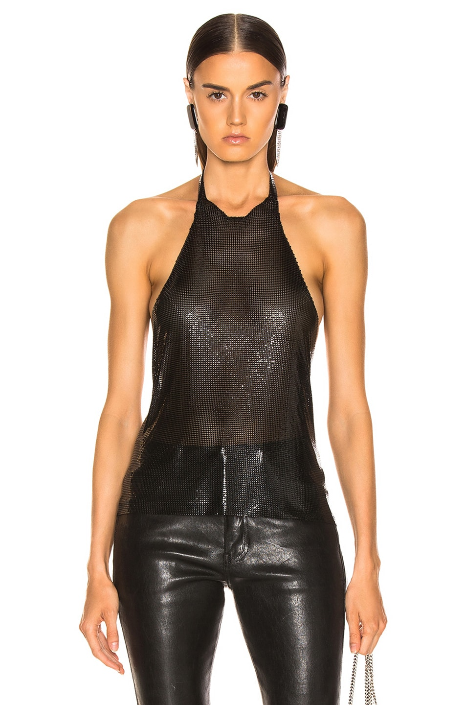 Image 1 of FANNIE SCHIAVONI Alicia Top in Black