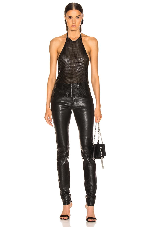 Image 4 of FANNIE SCHIAVONI Alicia Top in Black