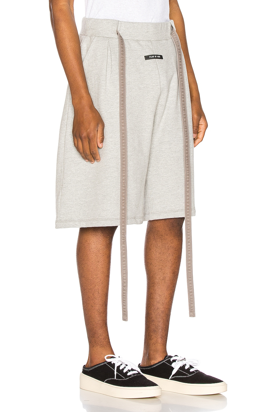 Image 2 of Fear of God Lounge Short in Heather Grey