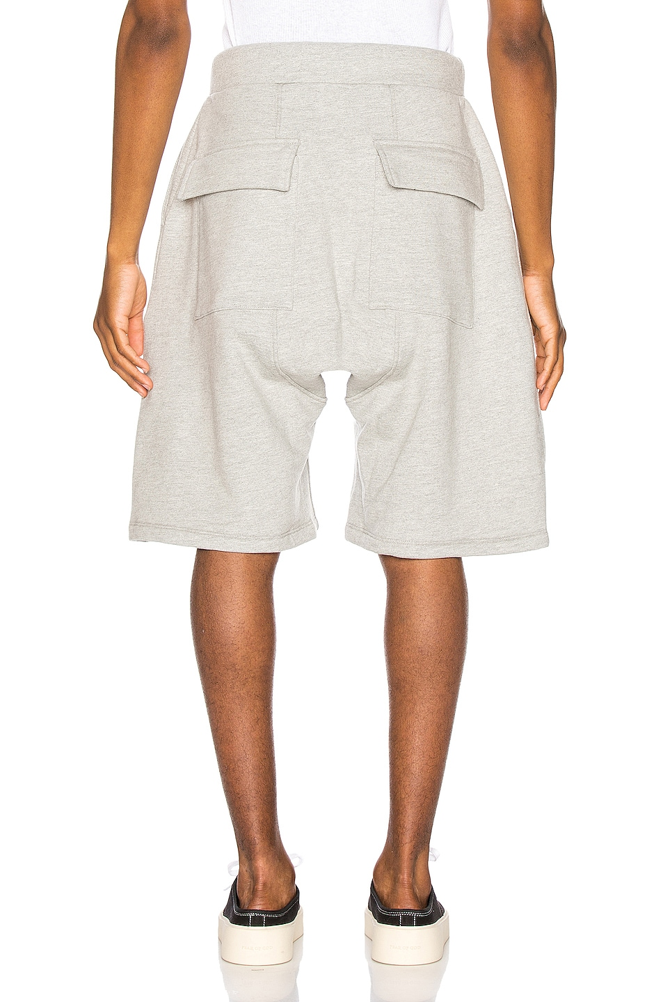 Image 3 of Fear of God Lounge Short in Heather Grey