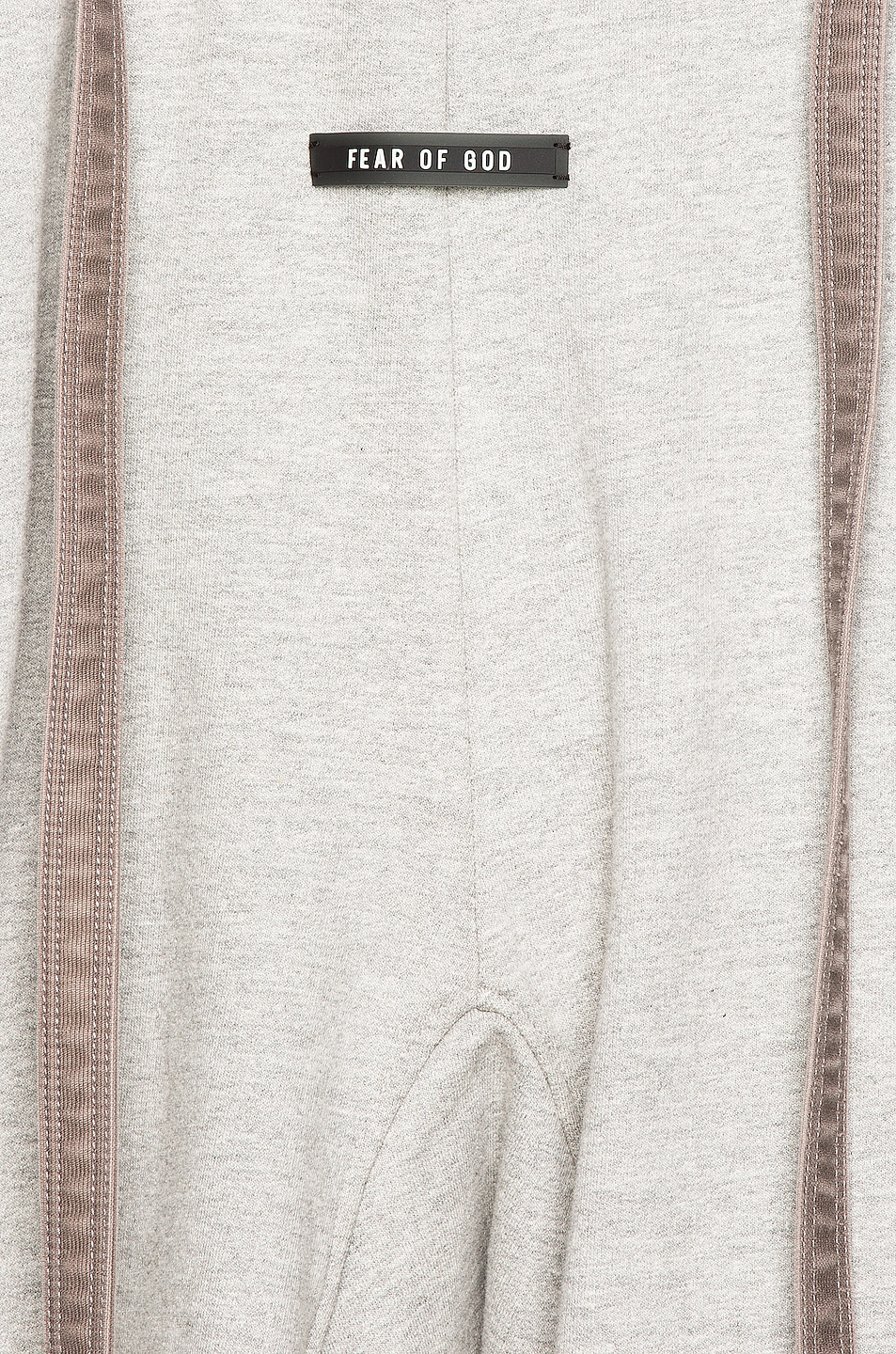 Image 5 of Fear of God Lounge Short in Heather Grey