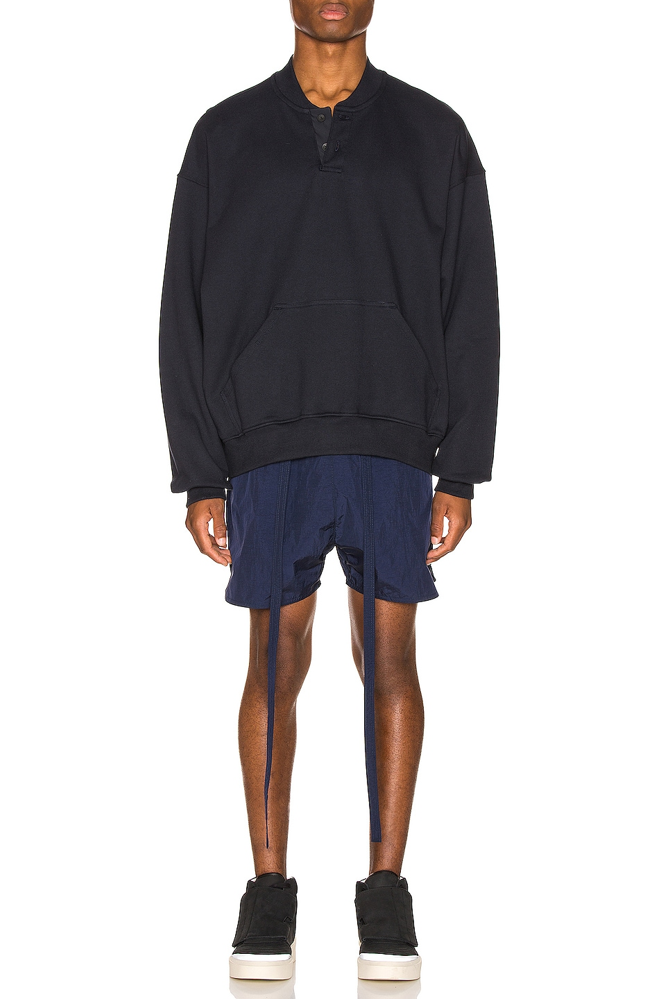 Image 4 of Fear of God Military Training Short in Navy