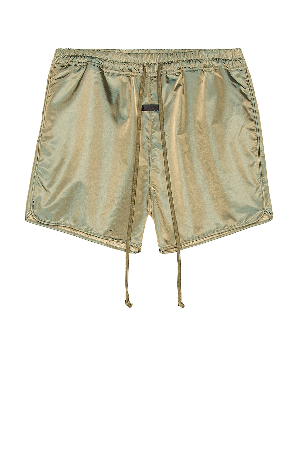Image 1 of Fear of God Track Short in Green Iridescent