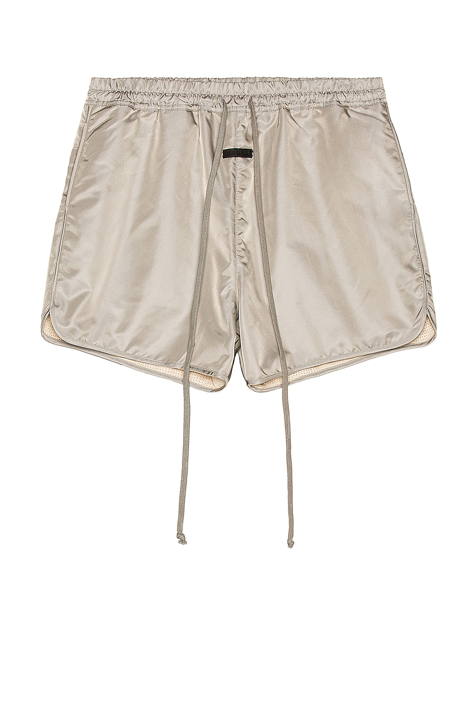 Image 1 of Fear of God Track Short in Grey Iridescent