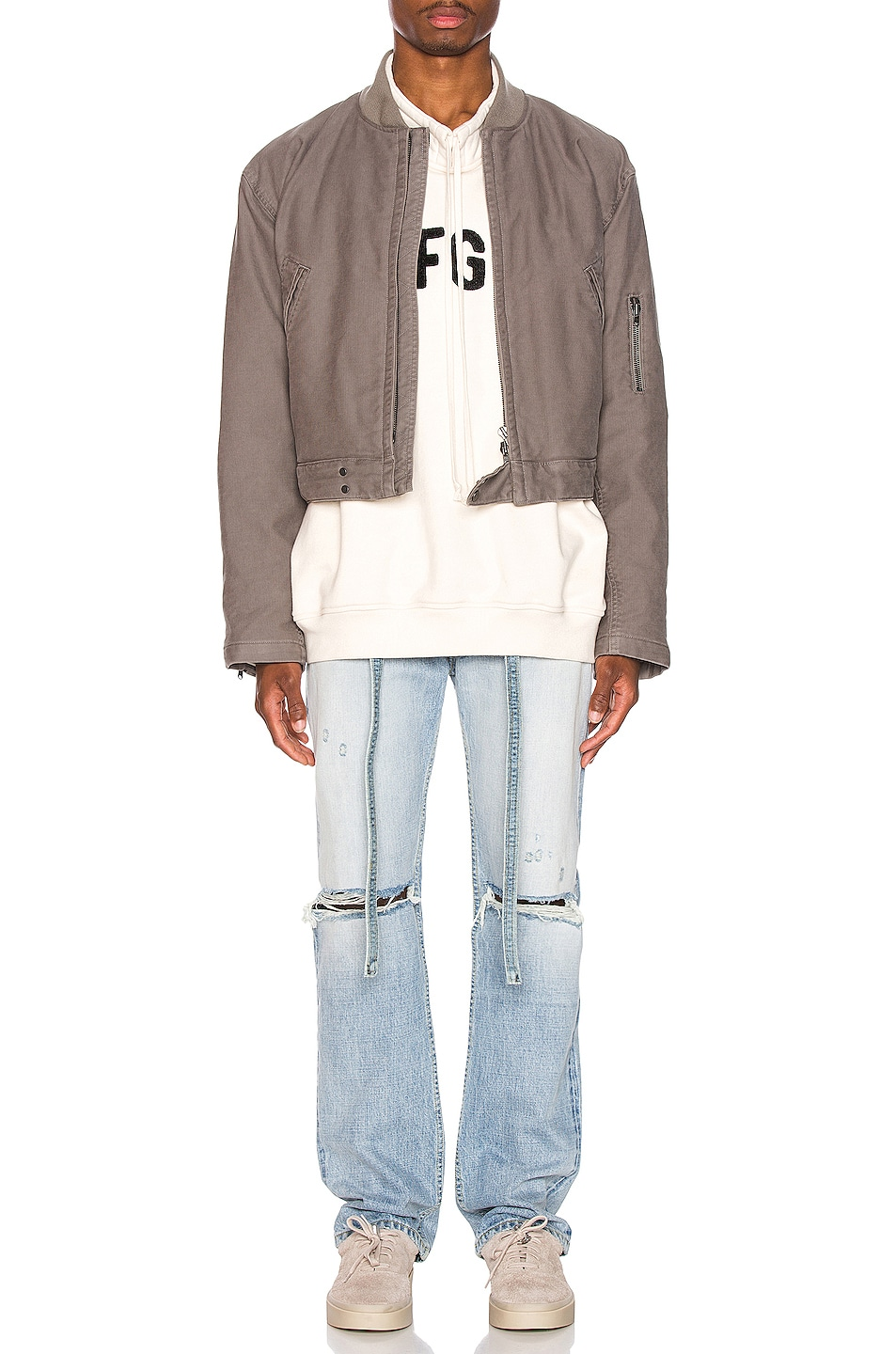 Image 4 of Fear of God Relaxed Denim Jean in Vintage Indigo