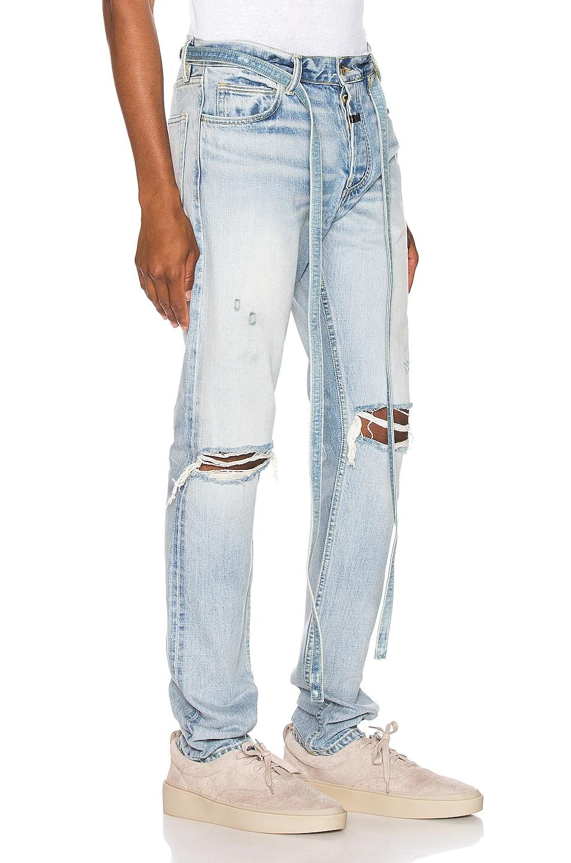 Image 2 of Fear of God Slim Denim Jeans in Vintage Indigo