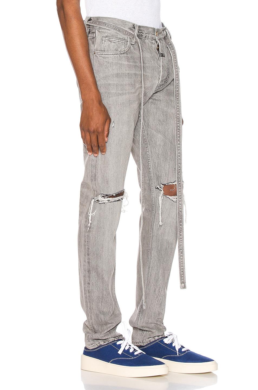Image 2 of Fear of God Slim Denim Jeans in God Grey