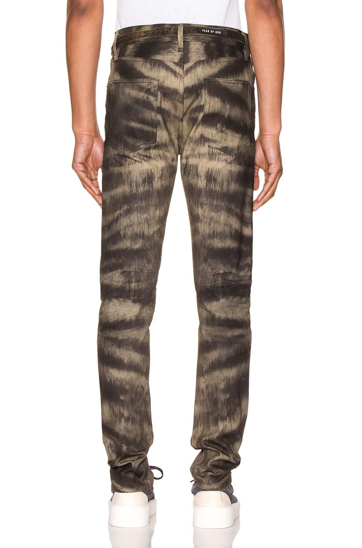 Image 3 of Fear of God Slim Jean in Zebra Stripe