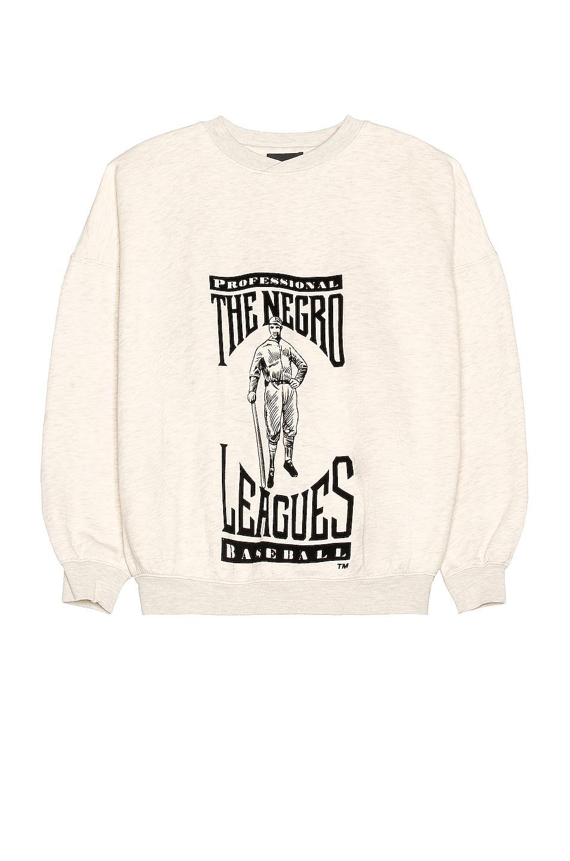Image 1 of Fear of God Negro League Sweatshirt in Cream Heather