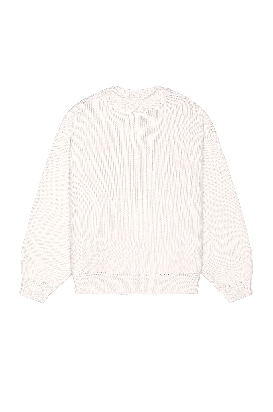 Image 1 of Fear of God Overlap Wool Sweater in White
