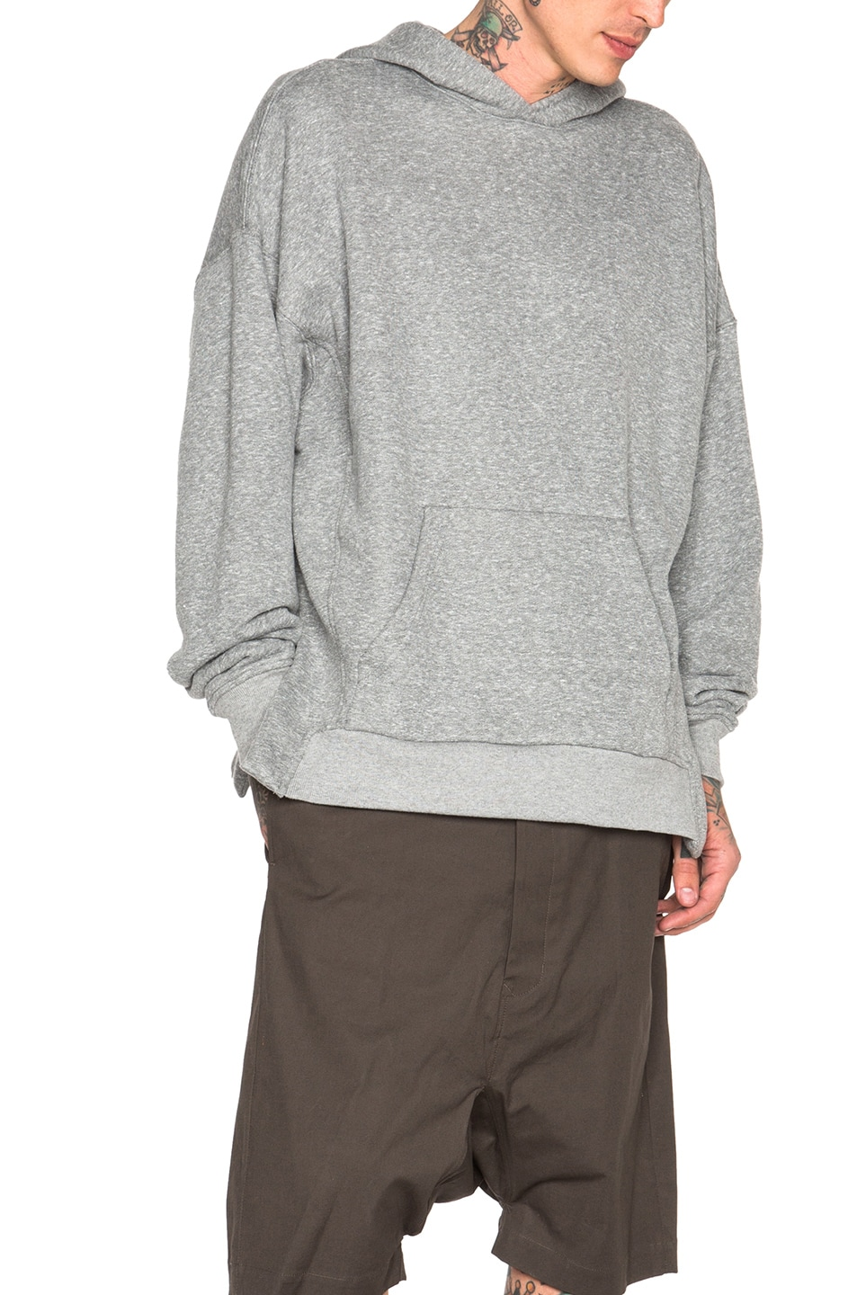 5485fb8d813e Image 1 of Fear of God Everyday Hoodie in Heather Grey