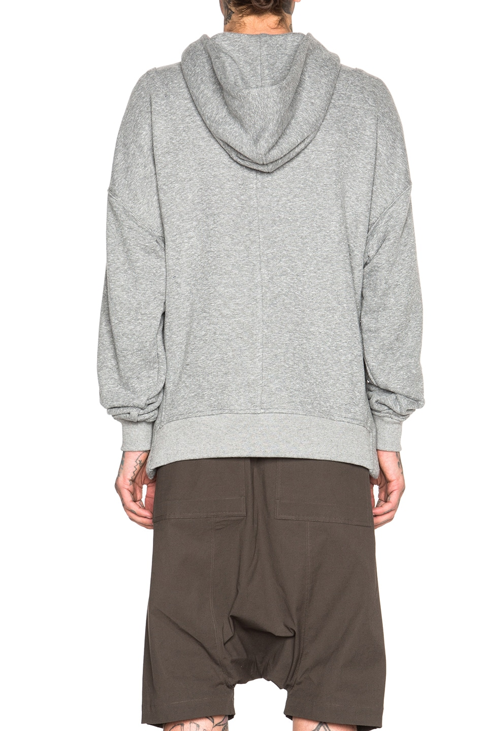 0debee132a1e Image 4 of Fear of God Everyday Hoodie in Heather Grey