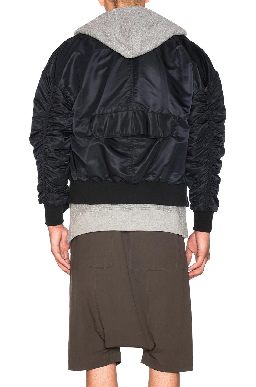 Image 5 of Fear of God Nylon Bomber Jacket in Black
