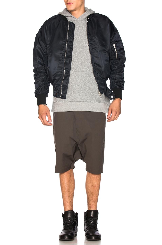 Image 6 of Fear of God Nylon Bomber Jacket in Black