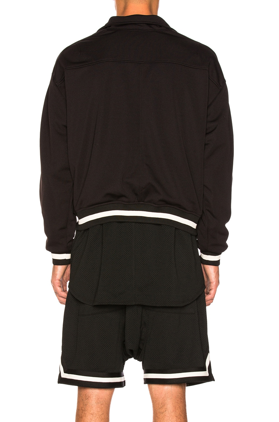 Image 4 of Fear of God Double Knit Track Jacket in Black
