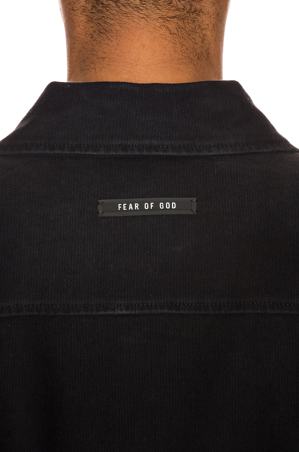 Image 7 of Fear of God Canvas Shirt Jacket in Black