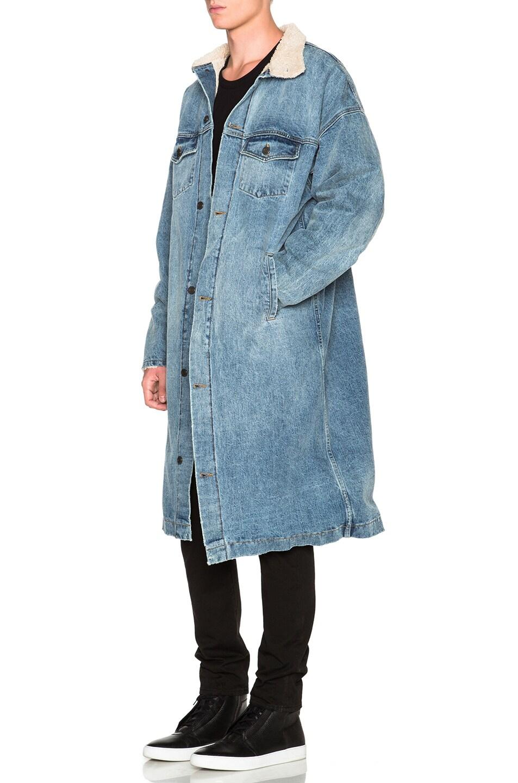 Image 2 of Fear of God Denim Deckcoat in Indigo