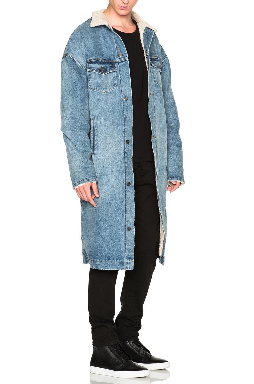 Image 3 of Fear of God Denim Deckcoat in Indigo
