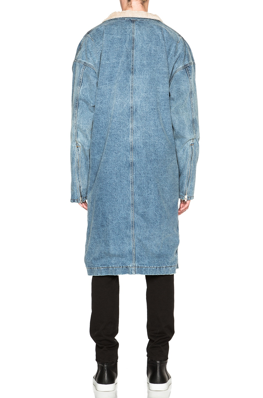 Image 4 of Fear of God Denim Deckcoat in Indigo