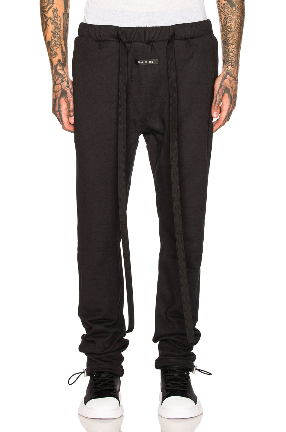 Image 1 of Fear of God Core Sweatpant in Vintage Black