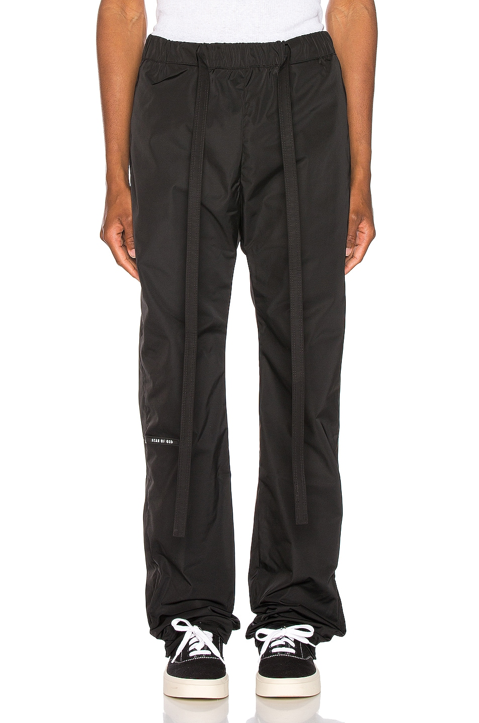 Image 1 of Fear of God Baggy Nylon Pant in Black