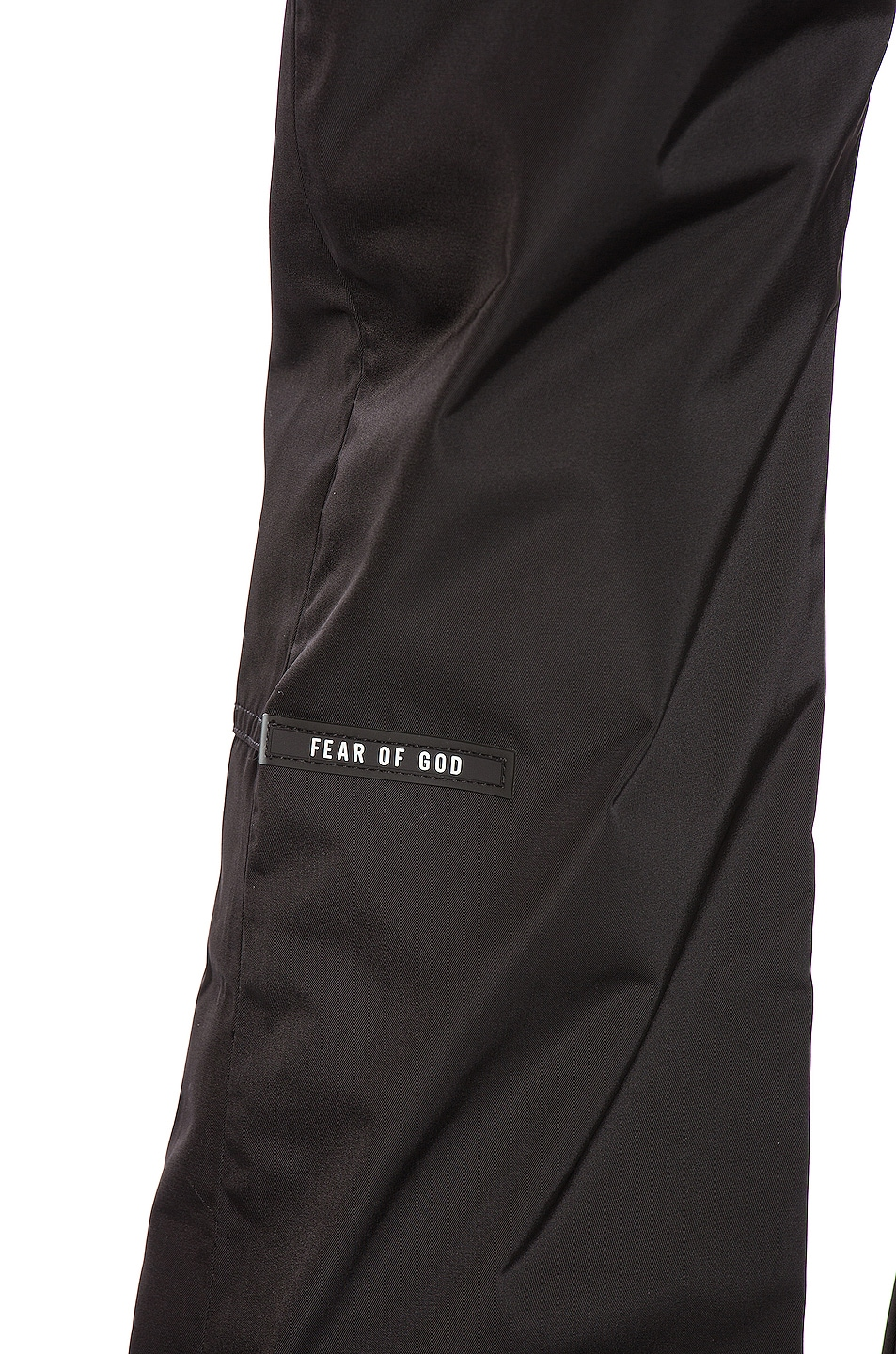 Image 5 of Fear of God Baggy Nylon Pant in Black