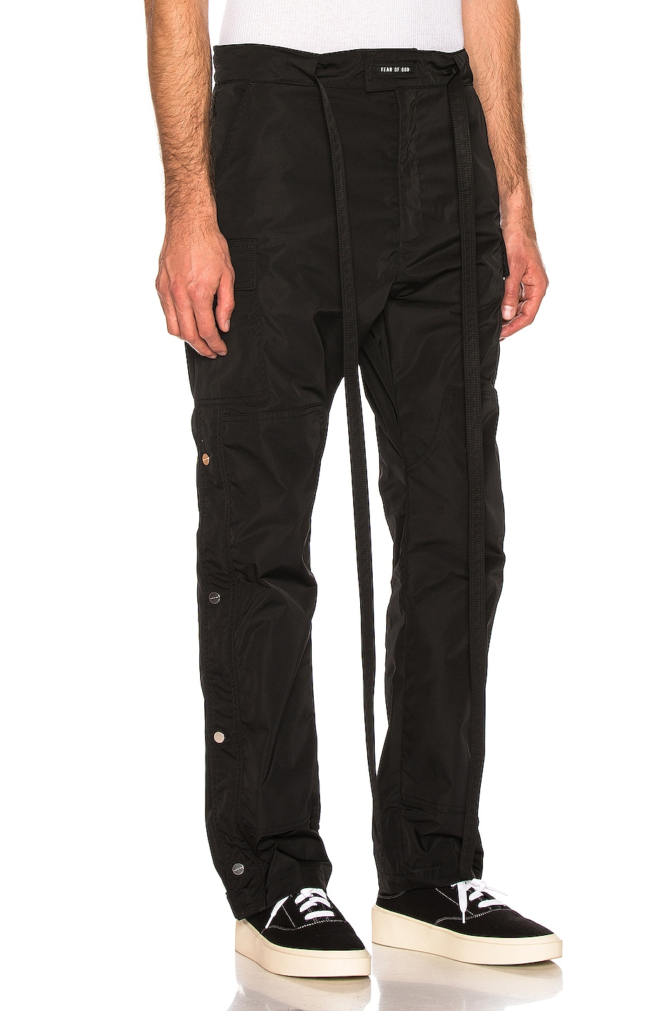 Image 2 of Fear of God Nylon Cargo Pant in Black