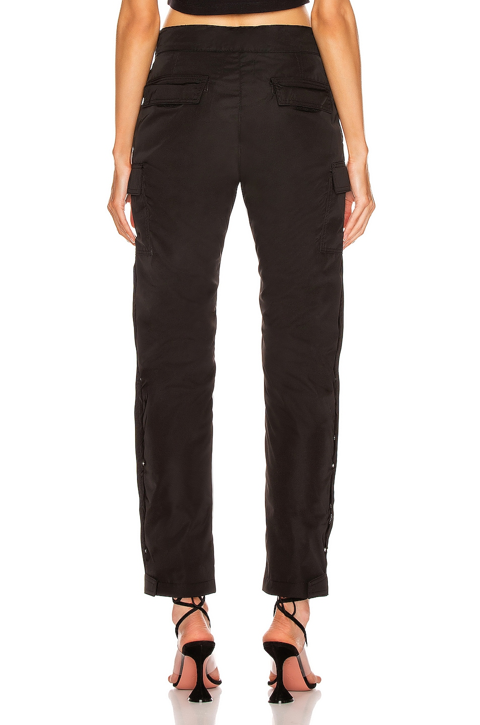Image 3 of Fear of God Nylon Cargo Pant in Black