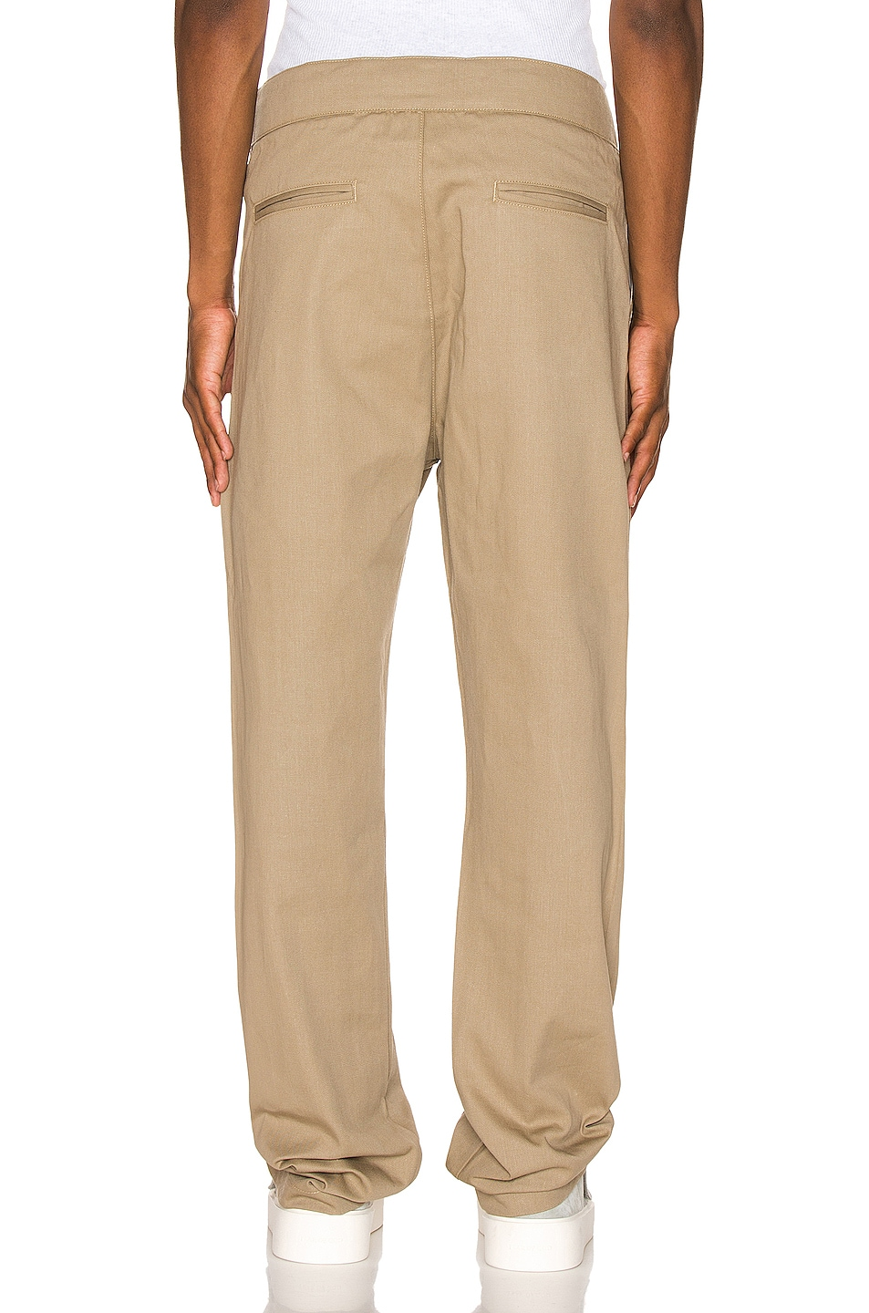 Image 3 of Fear of God Baggy Cargo Trouser in Khaki