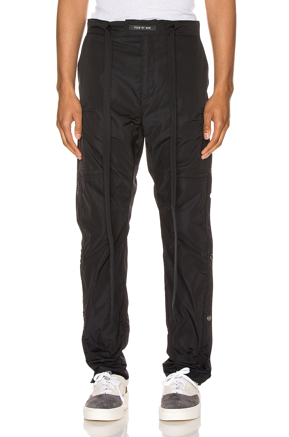 Image 1 of Fear of God Nylon Cargo Pant in Navy