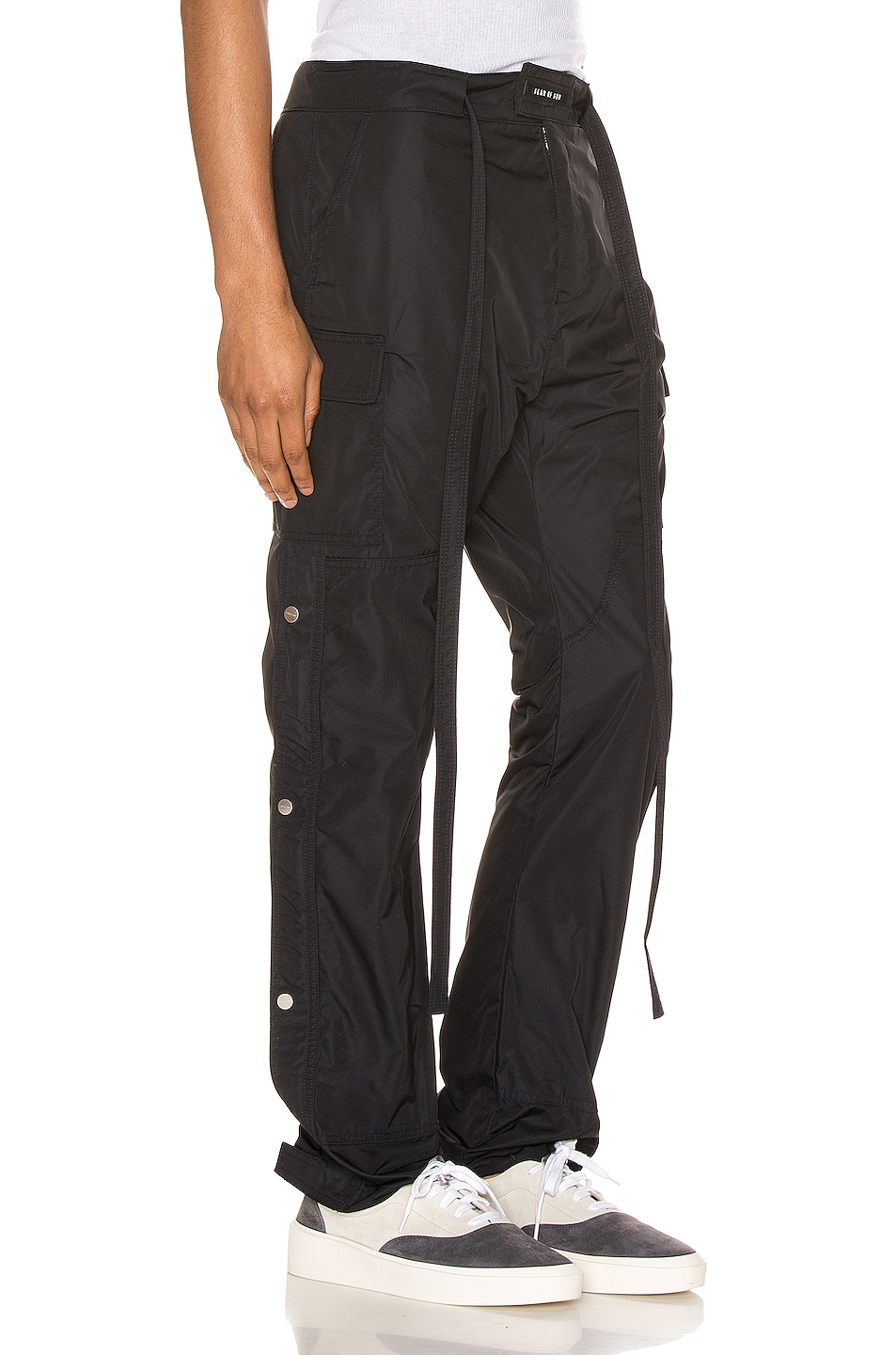 Image 2 of Fear of God Nylon Cargo Pant in Navy