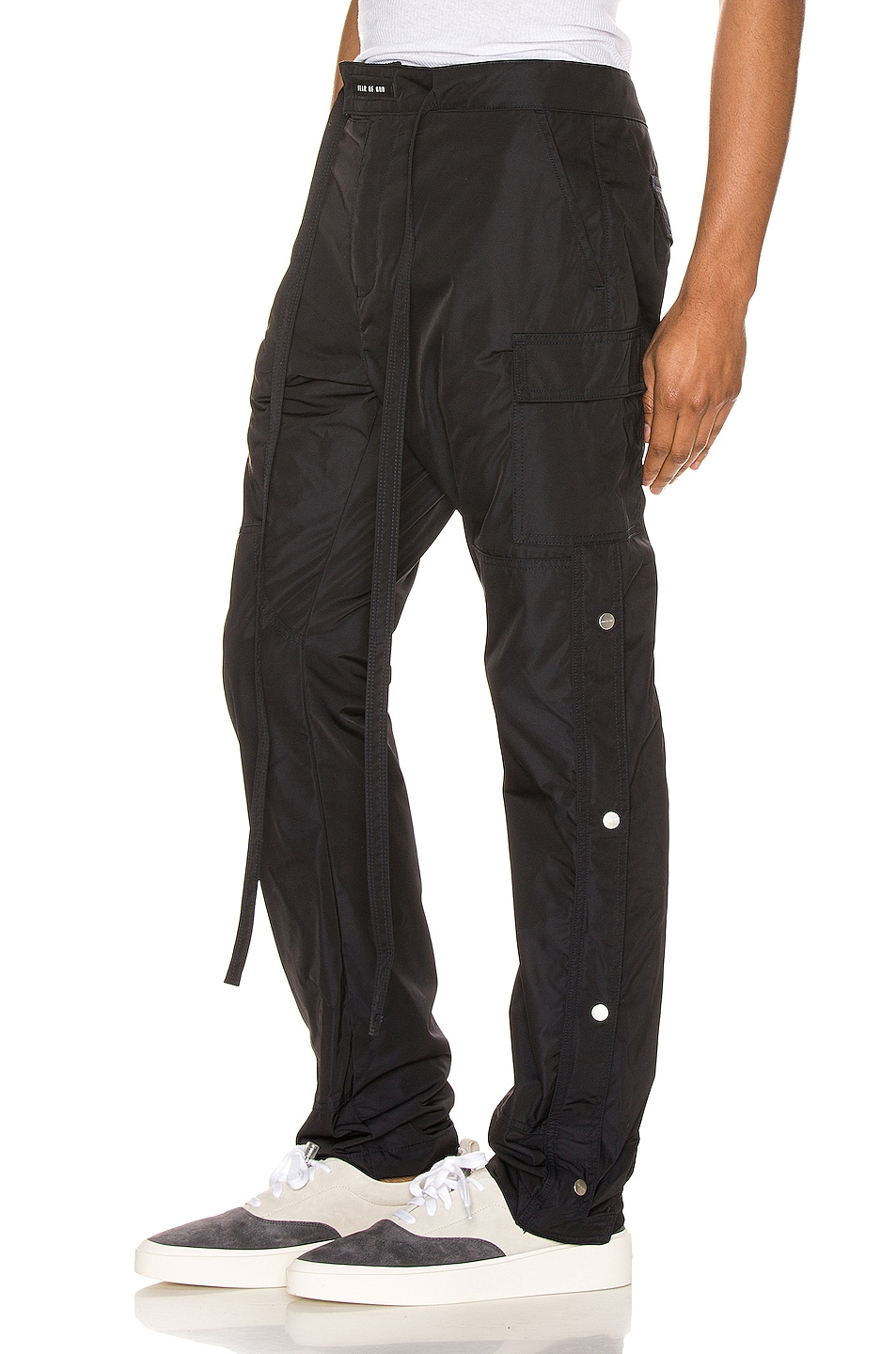 Image 3 of Fear of God Nylon Cargo Pant in Navy