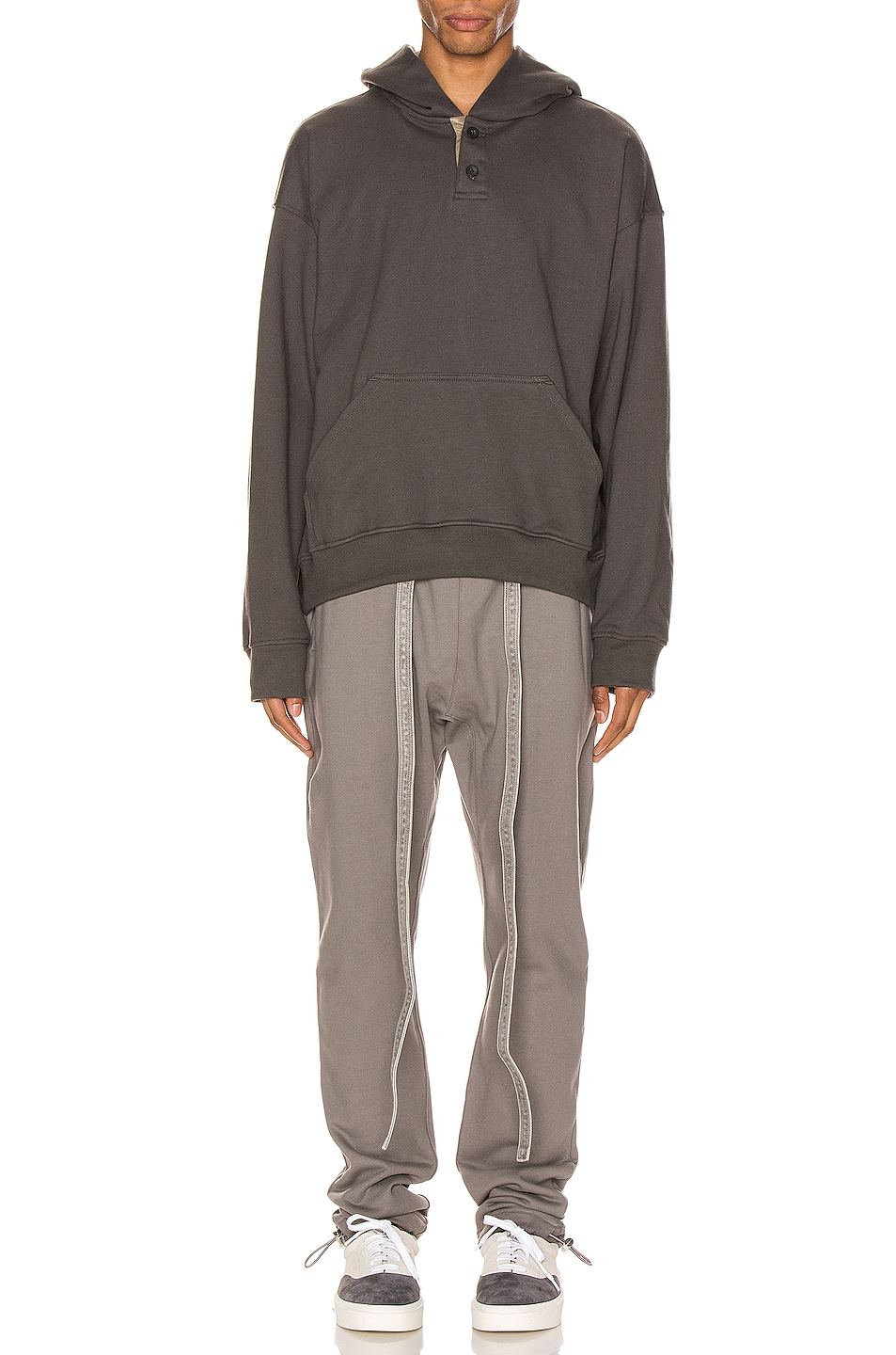 Image 4 of Fear of God Core Sweatpants in God Grey