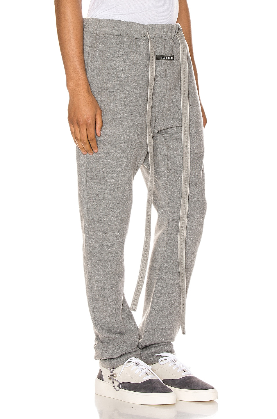 Image 2 of Fear of God Core Sweatpants in Heather Grey