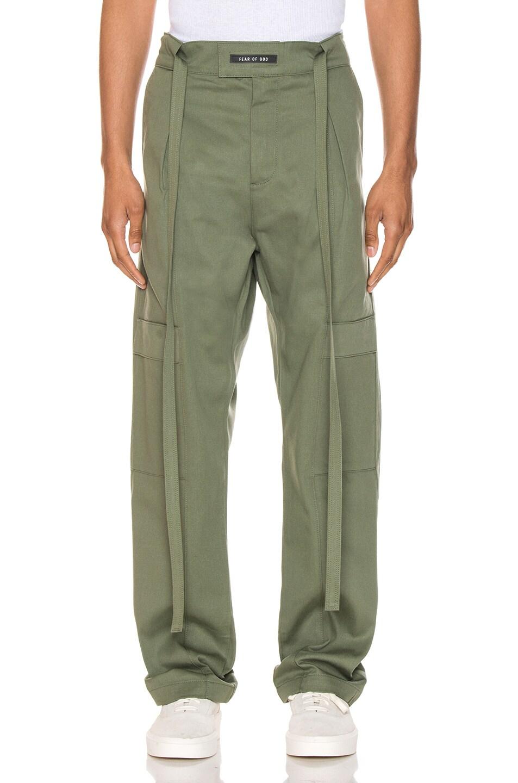 Fear Of God Pants Baggy Cargo Trouser
