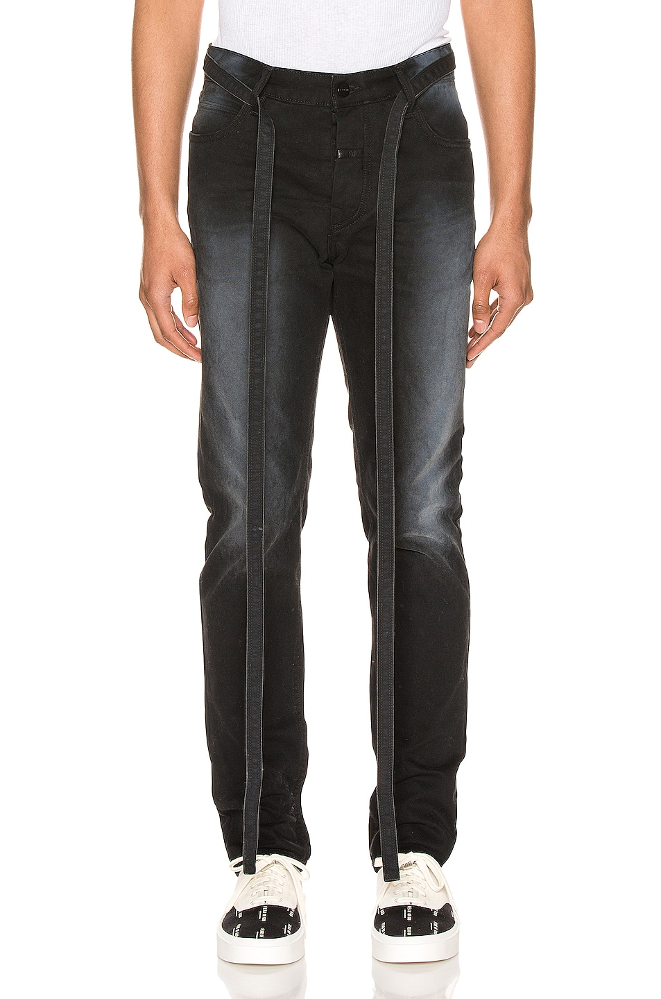 Image 1 of Fear of God Canvas Slim Pant in Black