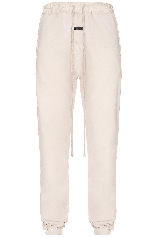Image 1 of Fear of God Vintage Sweatpant in Vintage Concrete White